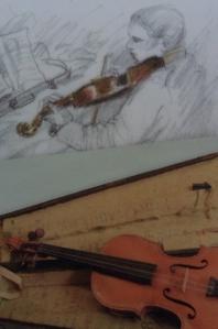 actual violin