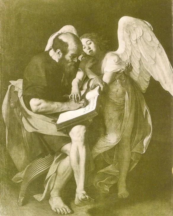 Caravaggio Scan B&W