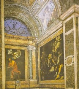 Caravaggio Scan Chapel
