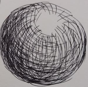 hatch circles