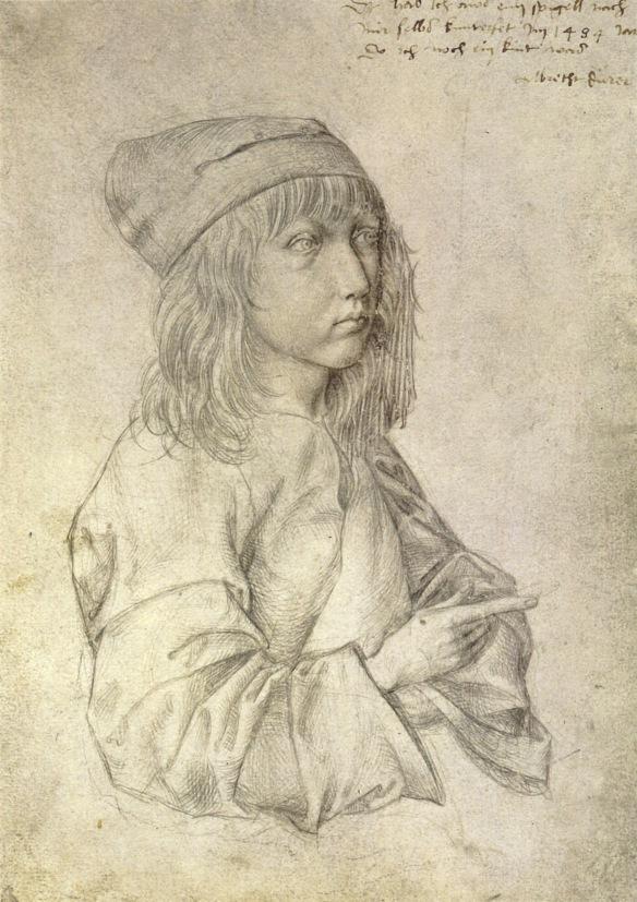 Self-portrait_at_13_by_Albrecht_Dürer