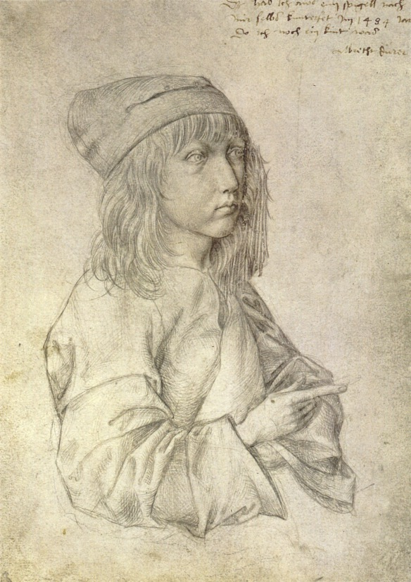 Self-portrait_at_13_by_Albrecht_Dürer